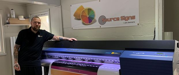 Source Signs speeds up with Roland DG